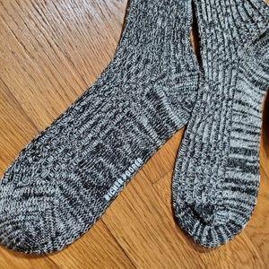 Pair of above the knee socks